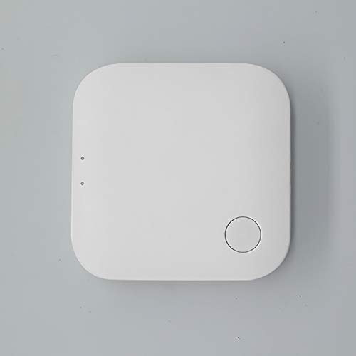 JINQII Tuya Smart Zigbee+WiFi Gateway Hub, puente inalámbrico multifuncional Smart Gateway Smart Accessories Centro de control, compatible con Alexa Google Home