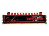 G.Skill F3-12800CL9 - Memoria RAM de 4 GB (DDR3, 1600 MHz, 240-pin), Rojo