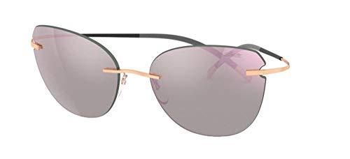 Gafas de Sol Silhouette TMA - THE ICON 8175 ROSE GOLD/PINK GREY talla única mujer