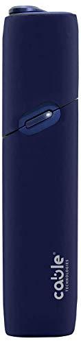 Soft Case für IQOS® 3 Multi, weiche Schutzhülle für die IQOS® 3 elektronische Zigarette Multi Soft Touch Silikon, gegen Kratzer, Stürze und versehentliche Stöße, Mordibo-Häuser (Blue)