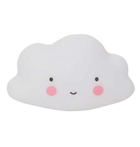 A Little Lovely Company BTCLWH01,  Juguete de baño de nube