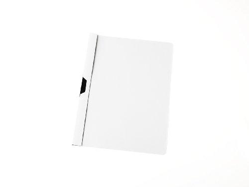100 Cliphefter DIN A4 / Klemmhefter/Bewerbungsmappe/Farbe: weiß