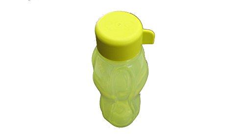 Tupperware - UNTERWEGS 1a Tupper Trinkflasche EcoEasy Flasche 310 ml - gelb grün