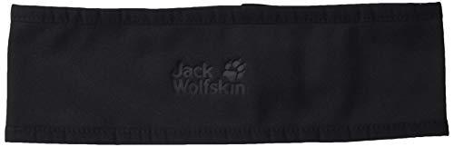 Jack Wolfskin Dynamic Headband Stirnband, Black, L