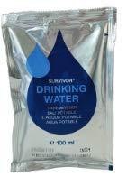 SURVIVOR MSI Trinkwasserkonserven 5x100ml