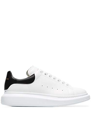 Alexander McQueen Luxury Fashion Uomo 553680WHGP59061 Bianco Pelle Sneakers | Stagione Permanente