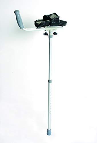 Days Arthritic Adjustable Height Crutch, 94-119 cm (37-47'), Aluminum, Rotating...