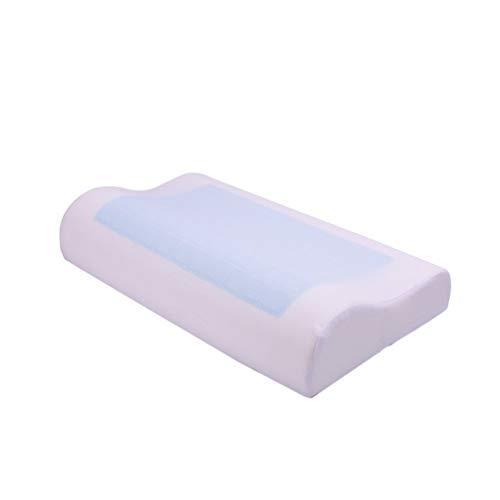 Lvguang Casual Style Memory Foam Gelkissen zum Schutz des Nackens (Blau, 50 * 30 * 10cm)