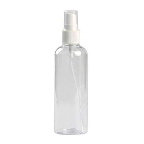 Guangcailun Vaporisateur en Plastique Transparent pulvérisateur cosmétique Stockage Portable Vaporiser Container Portable cosmétiques Voyage Spray Spraying Container, 120ml