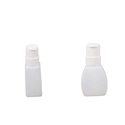 dailymall 2x Bouteille Vide, Pompe Distributeur Liquide Dissolvant, Anti-Corrosion, Non Toxique