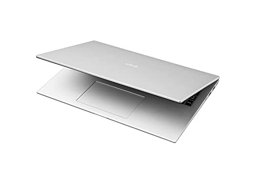 LG gram 17 Zoll Ultralight Notebook NEW 2021 Edition - 1,35 kg leichter Intel Core i5 Laptop (16GB LPDDR4, 512GB SSD, 19,5 h Akkulaufzeit, WQXGA IPS Display, Thunderbolt 4, Windows 10 Home) - Silber