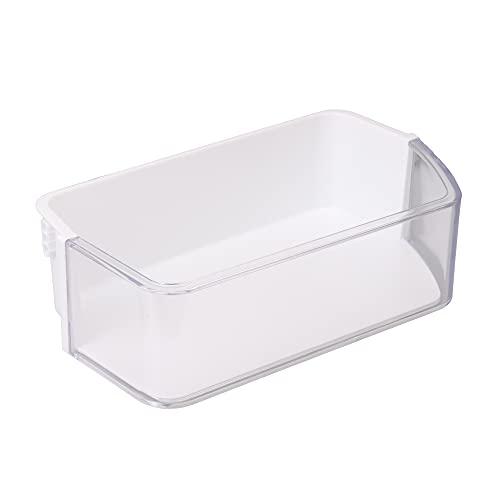 BQLZR Bandeja plástica DA97-12650A derecha de la cesta de la puerta del refrigerador de la capacidad grande