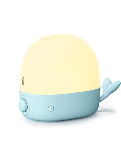 Humidifiers for Babies, TaoTronics 3-IN-1 Humidifier with Essential Oil Diffuser and Night Light, 2.5L Cool Mist Humidifier for Bedroom, BPA-Free, 26dB Whisper Quiet, Easy to Clean