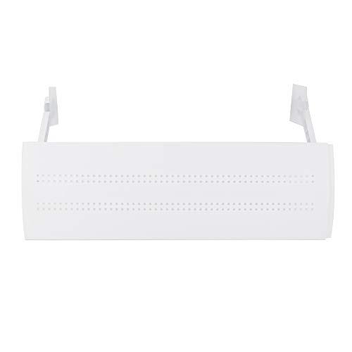 Deflettore di sfiato dell'aria condizionata, Deflettore del condizionatore d'aria 56cm-106cm Slot per schede Design telescopico per la casa per il soggiorno per la camera da letto(Cavo impermeabile)