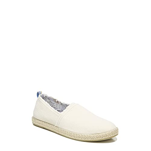 Vionic Beach Laguna Casual Women's Slip On Loafers-Sustainable Espadrilles That Include Three-Zone Comfort with Orthotic Insole Arch Support, Machine Wash Safe- Sizes 5-11 Cream 8 Medium US