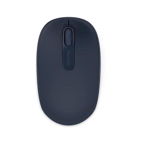 Microsoft 1850 Mobile Mouse Wireless, Accessori PC Ambidestro, Windows/Android, Blu