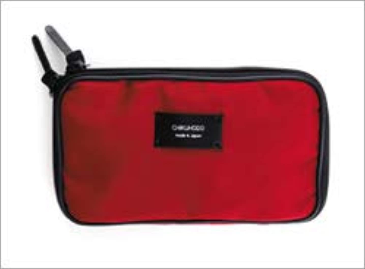 路地開いた月面熊野筆 竹宝堂 正規品 ブラシケース(化粧ポーチ) C-5 材質:ナイロン 広島 化粧筆