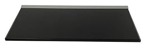 Regale4You 10 mm Glasregal 40x20 cm schwarz/Wandprofil LINO10 inkl. Befestigungsset