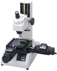 Mitutoyo 176-809A TM-510 Werkzeugmeßmikroskope Mikroskop mit Messschrauben, Konturbeleuchtung, 30-facher Vergrößerung