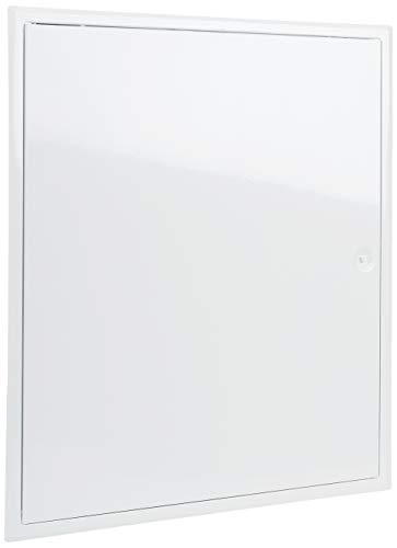 Upmann 20592 Revitür Softline sv 500x600 RAL9016 Vierkantverschluss