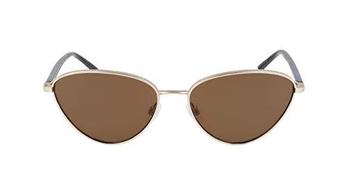 DKNY DK303S Gafas, Gold, 57/16/135 para Mujer