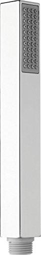 """Nikles Stab-Handbrause Stilo Quadro 1/2"""" *25 x 25 x 204 mm, Weitwinkel-Sprühplatte, 1-strahlig, Easy-to-clean Technik, geregelte Durchflussmenge 12 l/ min"""