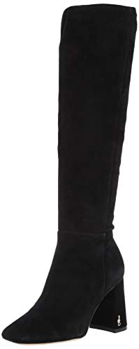 Sam Edelman Women's Clarem Knee High Boot Black 8.5 Medium