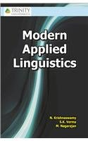 Modern Applied Linguistics by S.K. Verma and M. Nagarajan N. Krishnaswamy