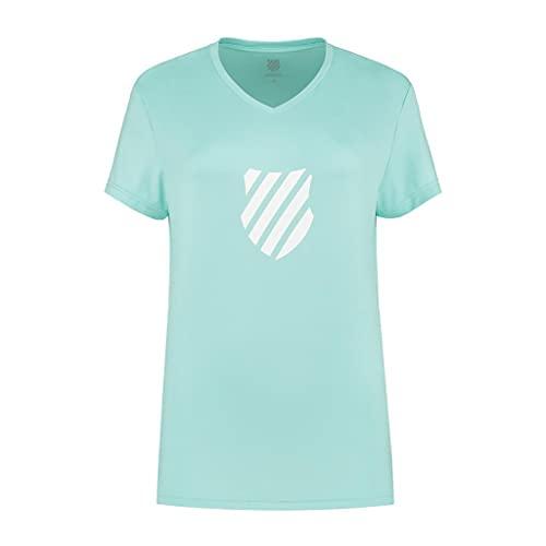 K-Swiss Camiseta Femme Hypercourt Express Logo