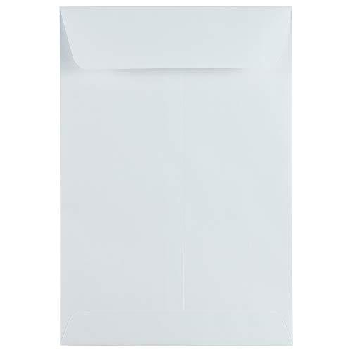 JAM PAPER 6 1/2 x 9 1/2 Open End Catalog Commercial Envelopes - White - 50/Pack