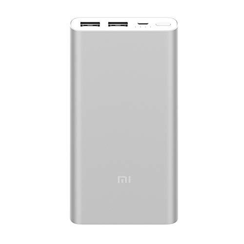 Xiaomi Mi Power Bank 2S 10000mah 2 saídas 2.4A Silver
