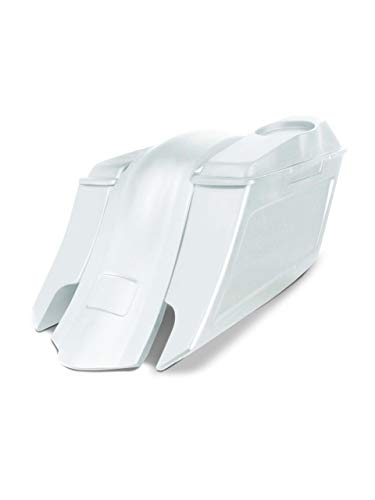 Read About Harley Davidson 6 down and 9 out angle saddlebags and overlay fender kit dual cut outs ...