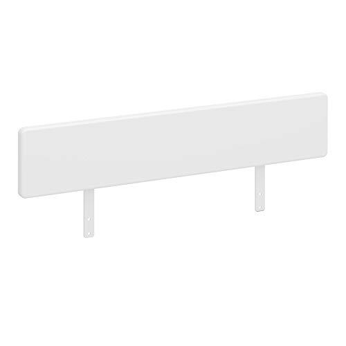 PKline Oscar Beschermrooster voor hoogslaper, stapelbed, kinderbed, bed, houten bed, rooster, wit