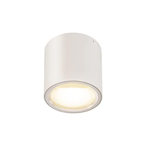 SLV Lámpara de techo Oculus CL / foco LED, foco de techo, lámpara de techo, iluminación interior, 11 W, 780 lm, color blanco regulable