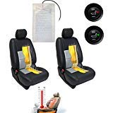 Far Infrared Carbon Fiber 12v Electric Heated Seat Winter Car Pad Relaxation Durable Heater 12v Health and Health Care x4