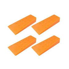 COLD CREEK LOGGERS 5.5 Inch Felling Wedge Chain Saw Logging Supplies Set of 4
