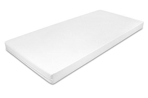 MSS® PU-Inkontinenz-Pflegebettmatratze RG 35-90 x 200 cm - Weiß