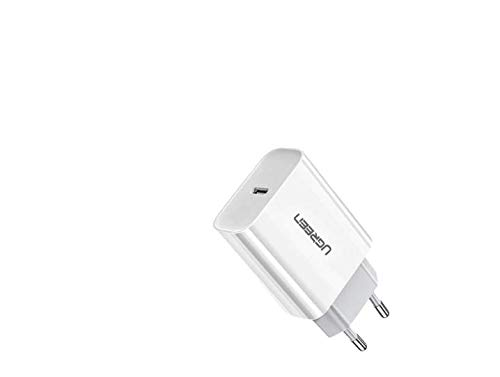 Carregador Ugreen Turbo 20w iPhone 8 a 12 Tipo C Quick Charge 3 20 W PD+