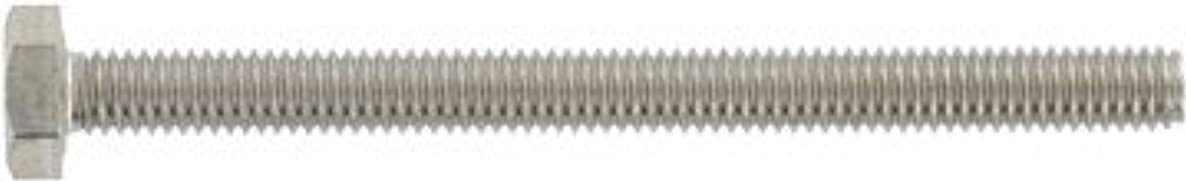 (10pcs) DIN 933 M27X120 Hexagon Head Screws A4-80 Stainless Steel, Ships FREE in USA by Aspen Fasteners, ASSP093348027-120