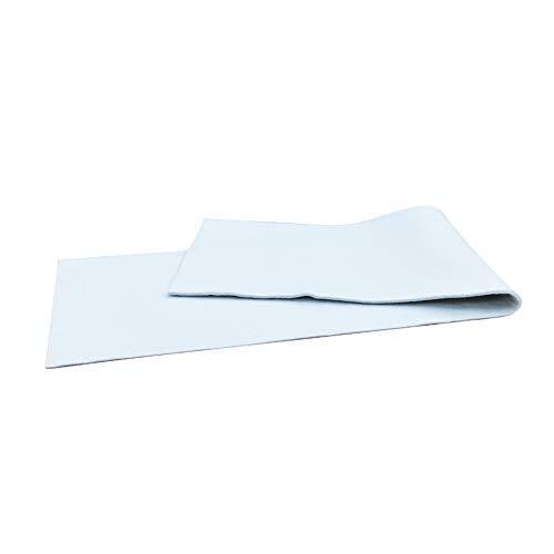 Duwee Cubierta de Lujo Tabla de Planchar Almohadilla de Fieltro Cubierta de Material de Fieltro Extra Denso para Cubierta de Tabla de Planchar Fácil de Cortar a Medida (139X39cm con 10mm de Espesor)