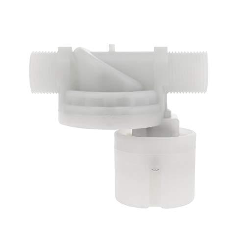 Balacoo 1 Inchfloat Ventil Automatische Wasserbewirtschaftung Weißes Schwimmventil Kugelventil für Wassertank Wasserturm Aquarium
