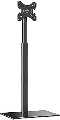 DZCGTP Soporte para TV de Piso para Pantalla de 19'- 42' 16 Alturas Ajustables Soporte Giratorio inclinable a 70 ° Máx.Gestión de Cables VESA 200x200 mm