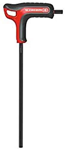 Facom 84tza. 4Schlüssel 6Kant Standard, rot/schwarz, 4mm