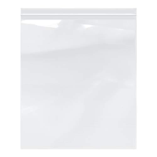 Plymor Zipper Reclosable Plastic Bags, 2 Mil, 13' x 15' (Pack of 100)