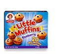 Little Debbie Blueberry Little Muffins Pouches - 5ct/8.27oz