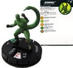 Marvel Heroclix Superior Foes of Spider-Man: Scorpion #030