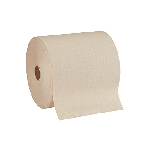 """Pacific Blue Ultra 8"""" High-Capacity Recycled Paper Towel Rolls by GP PRO (Georgia-Pacific), Brown, 26496, 1,150 Linear Feet Per Roll, 3 Rolls Per Case"""