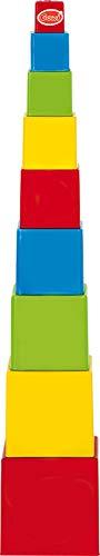 Gowi - 453-25 - 9 - Forme À Trier Et À Empiler - Gobelets Cubes - 52 Cm