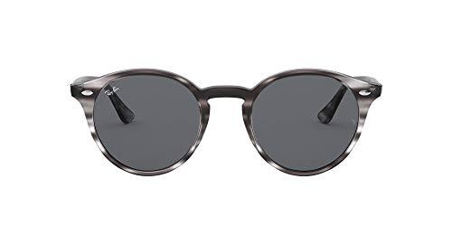 Ray-Ban 0RB2180 Gafas de sol, Striped Grey Havana, 49 Unisex