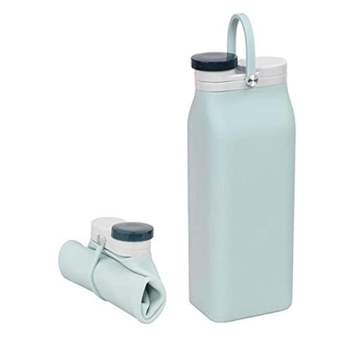 JWDS Botella deportiva 600 Ml Bebida Plegable Botella De Agua Plegable Taza De Agua Taza De Viaje Deportes Bebida Bebida Agua Botella De Agua Al Aire Libre